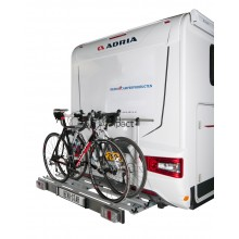 Revo-Star, porte- vélo pliable pour camping-car avec LED