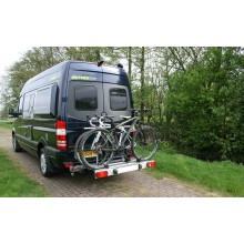 Van-Star, Porte- vélo pivotant pour Mercedes Sprinter & Volkswagen Crafter
