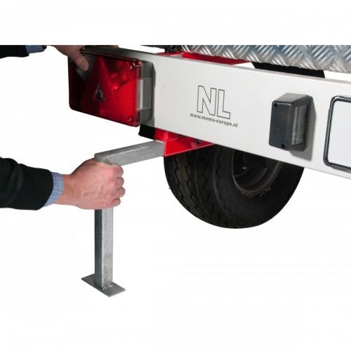 Shorty remorque pour camping car mod le bicyclettes - Remorque porte moto pour camping car ...