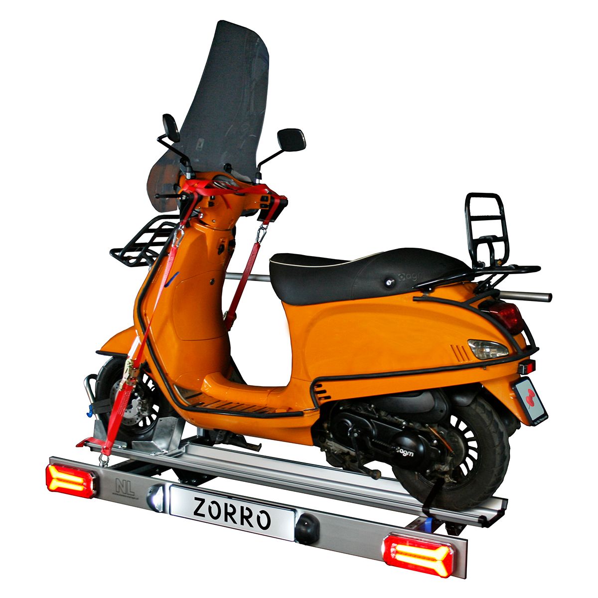 Zorro foldable scooter carrier